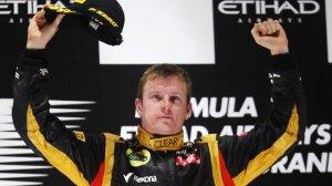 Lotus driver Kimi Raikkonen