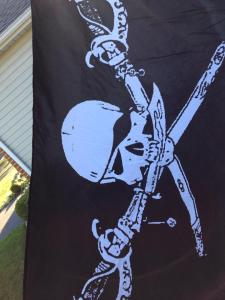Yes, I'm flying the Jolly Roger