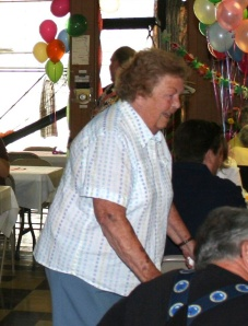 At my mom's 70th birthday party, just two years ago