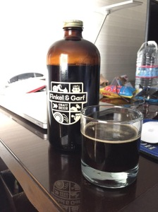 1/2 Growler of Oatmeal Milk Stout from Finkel & Garf